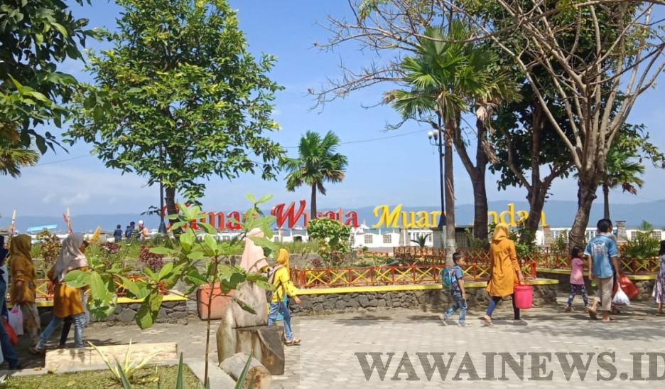 Pantai Muara Indah Dibuka Pengunjung Masih Sepi Wawainews