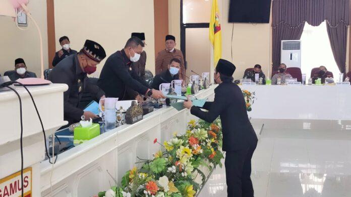 Rapat Paripurna DPRD Kabupaten Tanggamus