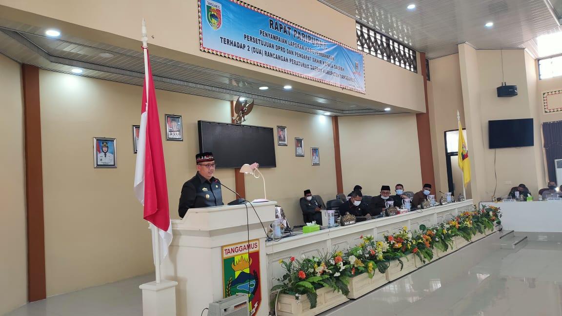 DPRD Tanggamus Edy Yalismi